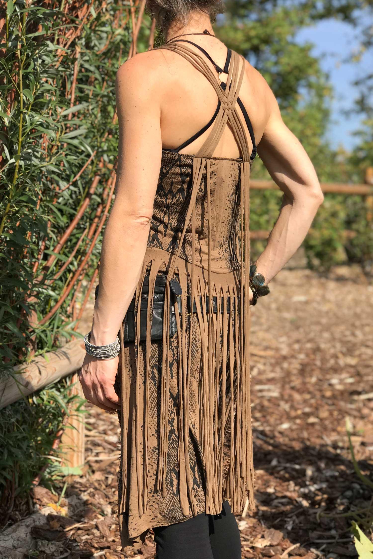 Kleid Fray braun | Antaris Shop