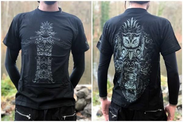 T-Shirt ASCENSION TOTEM black