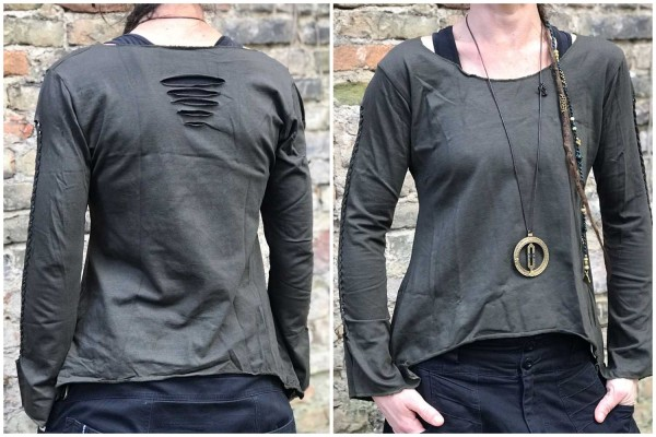 Top Exception Cuts olive