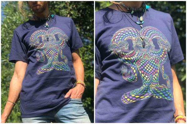 T-Shirt Trinfinity Navy Blue