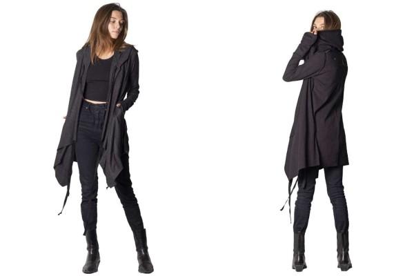 Mantel CRIME BLACK