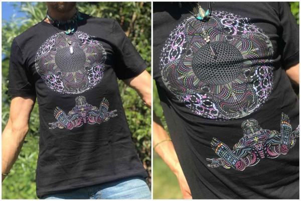 T-Shirt DMT HD schwarz