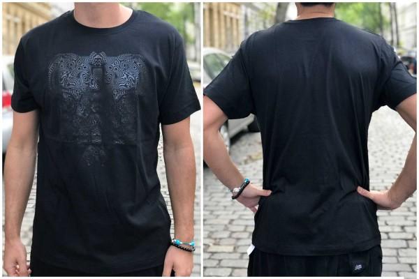 T-Shirt Freqtarie schwarz