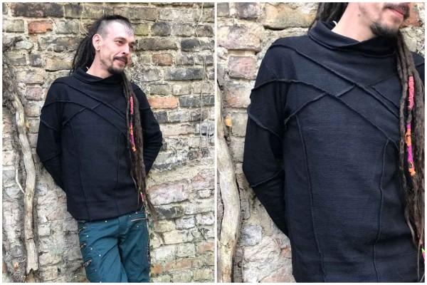 geometrische Print T-shirt,Herren T-shirt,Tribal Kleidung, Hippie Kleidung, Festival Kleidung, Psy wear, Psychedelic Kleidung, Psy Kleidung