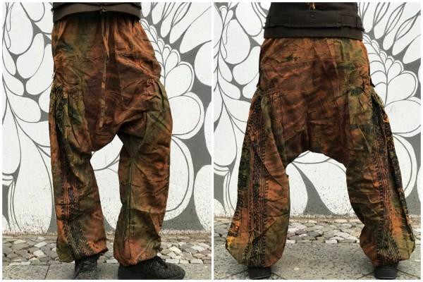Haremshose Rust batik