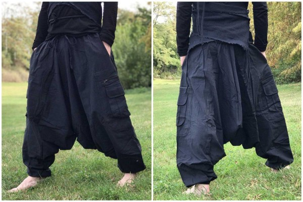 Haremshose Simple schwarz