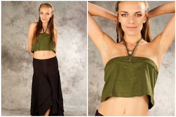 Top ✳ Belly olive
