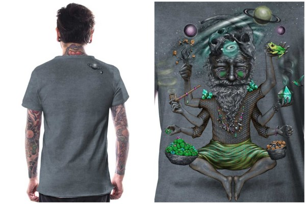 T-Shirt Saboosh grey wash
